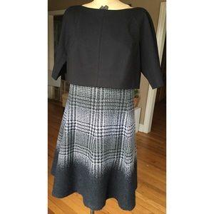 Lafayette 148 New York Wool Blend Dress 6